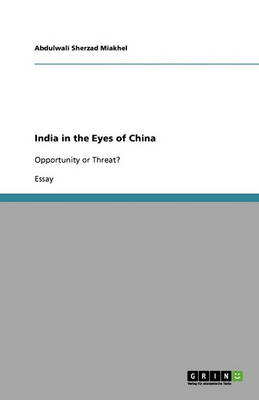 India in the Eyes of China (Paperback)