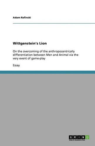 Wittgenstein's Lion (Paperback)