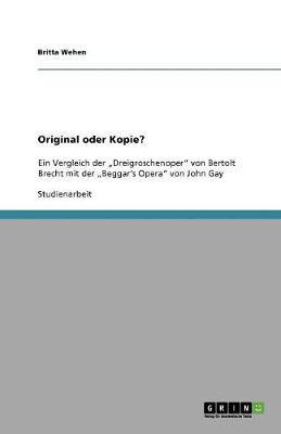 Original Oder Kopie? (Paperback)