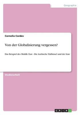 Von Der Globalisierung Vergessen? (Paperback)