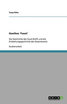 Goethes 'faust' (Paperback)