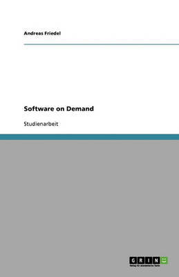 Software on Demand (Paperback)