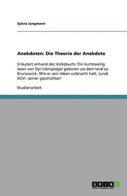 Anekdoten: Die Theorie Der Anekdote (Paperback)