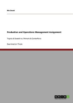 Production and Operations Management Assignment (Paperback)