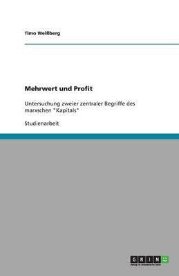 Mehrwert Und Profit (Paperback)