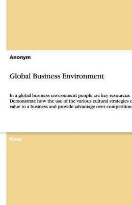 Global Business Environment (Paperback)