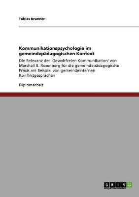 Kommunikationspsychologie Im Gemeindepadagogischen Kontext (Paperback)