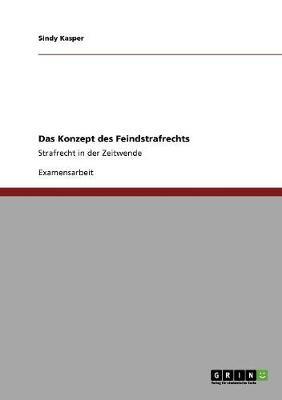 Das Konzept Des Feindstrafrechts (Paperback)