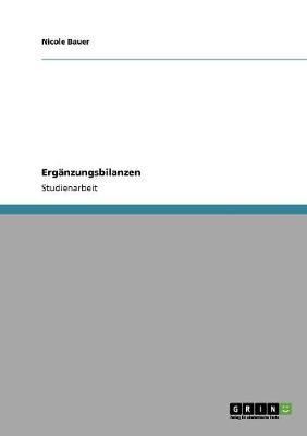 Erganzungsbilanzen (Paperback)