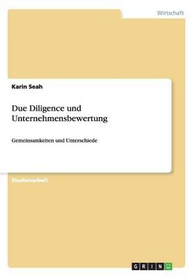 Due Diligence Und Unternehmensbewertung (Paperback)