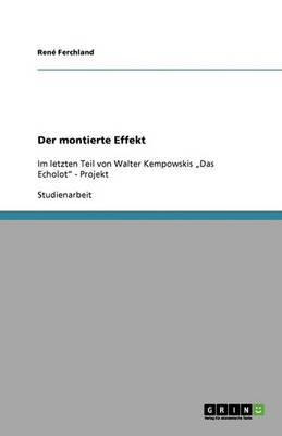Der Montierte Effekt (Paperback)