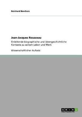 Jean-Jacques Rousseau (Paperback)