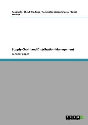 Supply Chain and Distribution Management (Paperback)