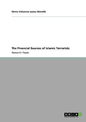 The Financial Sources of Islamic Terrorists (Paperback)