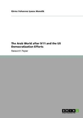 The Arab World After 9/11 and the Us Democratization Efforts (Paperback)