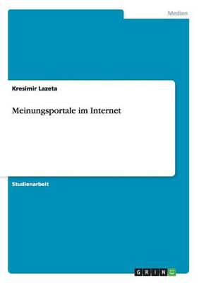 Meinungsportale Im Internet (Paperback)