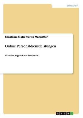 Online Personaldienstleistungen (Paperback)
