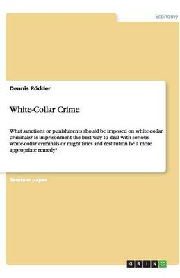 White-Collar Crime (Paperback)