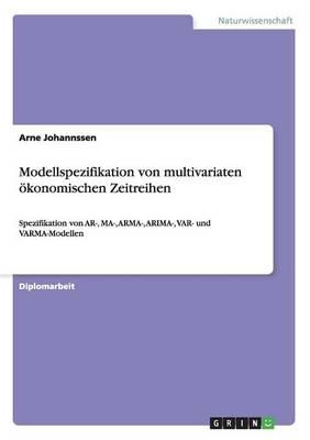 Modellspezifikation Von Multivariaten Okonomischen Zeitreihen (Paperback)