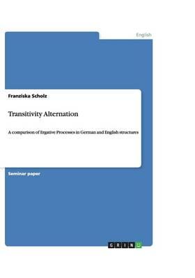 Transitivity Alternation (Paperback)