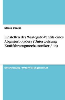 Einstellen Des Wastegate-Ventils Eines Abgasturboladers (Unterweisung Kraftfahrzeugmechatroniker / -In) (Paperback)