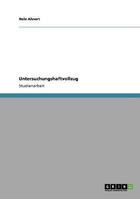 Untersuchungshaftvollzug (Paperback)