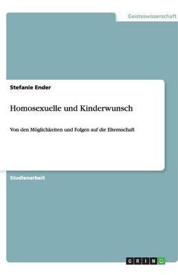Homosexuelle Und Kinderwunsch (Paperback)