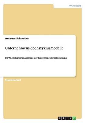 Unternehmenslebenszyklusmodelle (Paperback)