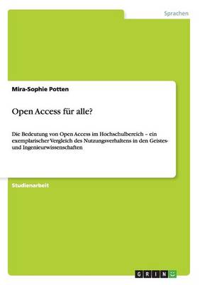 Open Access Fur Alle? (Paperback)