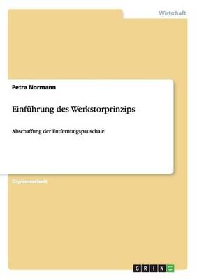 Einfuhrung Des Werkstorprinzips (Paperback)
