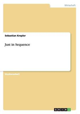 Just in Sequence (Paperback)
