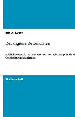 Der Digitale Zettelkasten (Paperback)