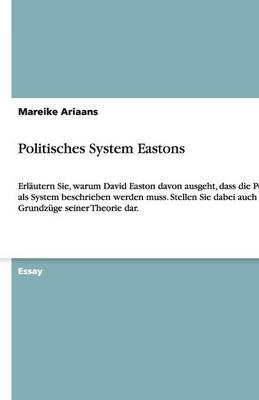 Politisches System Eastons (Paperback)