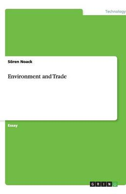 Environment and Trade (Paperback)