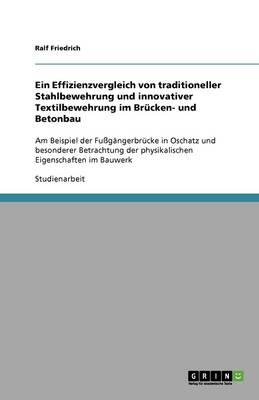 Ein Effizienzvergleich Von Traditioneller Stahlbewehrung Und Innovativer Textilbewehrung Im Brucken- Und Betonbau (Paperback)