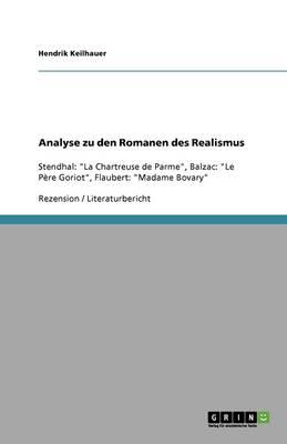 Analyse Zu Den Romanen Des Realismus (Paperback)