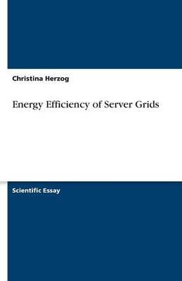 Energy Efficiency of Server Grids (Paperback)