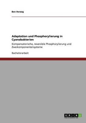 Adaptation Und Phosphorylierung in Cyanobakterien (Paperback)