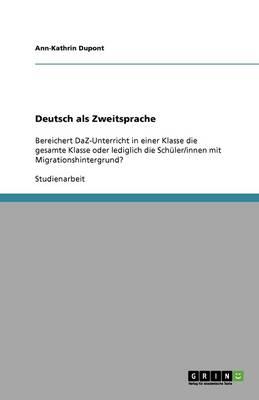 Deutsch ALS Zweitsprache (Paperback)
