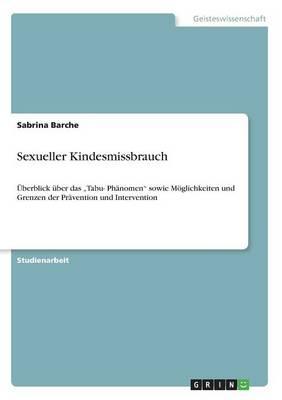 Sexueller Kindesmissbrauch (Paperback)
