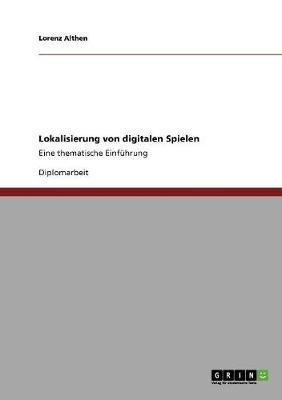 Lokalisierung Von Digitalen Spielen (Paperback)