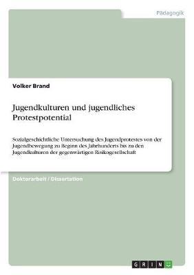 Jugendkulturen Und Jugendliches Protestpotential (Paperback)