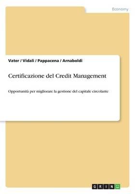 Certificazione del Credit Management (Paperback)