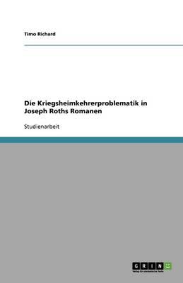 Die Kriegsheimkehrerproblematik in Joseph Roths Romanen (Paperback)