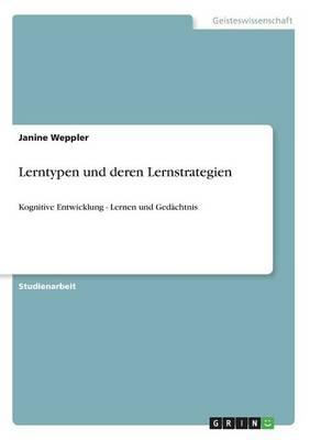 Lerntypen Und Deren Lernstrategien (Paperback)