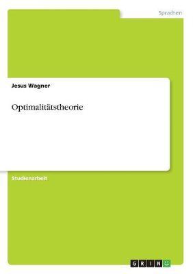 Optimalitatstheorie (Paperback)