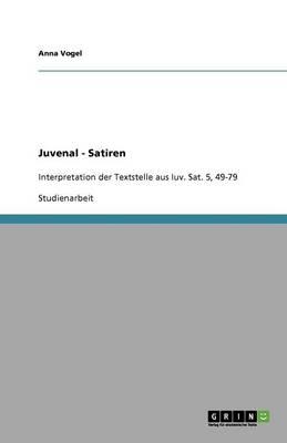Juvenal - Satiren (Paperback)