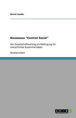 Rousseaus Contrat Social (Paperback)