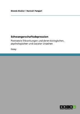 Schwangerschaftsdepression (Paperback)