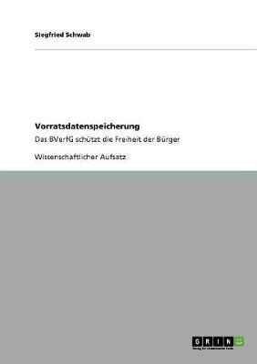 Vorratsdatenspeicherung (Paperback)